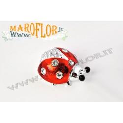 Bomboniera Coccinella Rossa 4cm con punti luce per Laurea Lauree