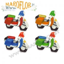Outlet Stock Bomboniera Scooter Vespa 5cm colorate