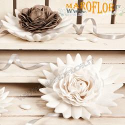 Bomboniere Claraluna 17162 Lotus Porcellana Fiore Sapone Essenziale