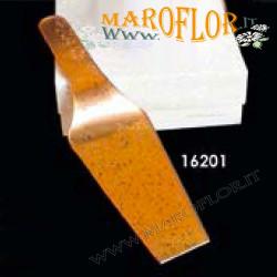 Bomboniere Stock Claraluna 16201 Paletta Dolci 26cm in vetro ramato linea Swag