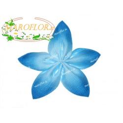 Bomboniera PortaConfetti Coccarda Azzurra 5 Petali senza Confetti e senza confezione