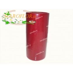 Deco Tulle Rosso 25cm x 100 metri per Bomboniere, Fiori, Regali