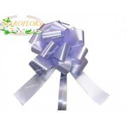 50 Coccarde Lilla Glicine h3cm Nastri Fiocchi per Matrimoni, Compleanni, Anniversari, ecc