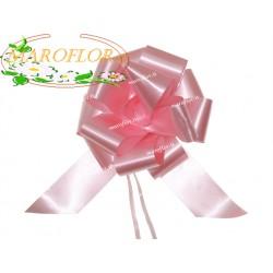50 Coccarde Rosa h3cm Nastri Fiocchi per Lauree, Cresime, Fidanzamenti, Matrimoni, Compleanni
