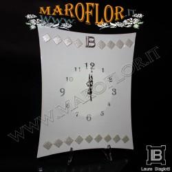 Bomboniera Matrimonio Orologio da parete 35cm Fabia FB042 Anniversari Nozze d argento