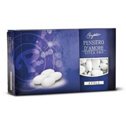 Confetti Maxtris con Avola 40 Pensiero d'Amore Gold 1 kg Confettificio Prisco