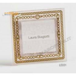 Bomboniera Solidale Laura Biagiotti LE031 Portafoto 12,5cm Linea Clelia