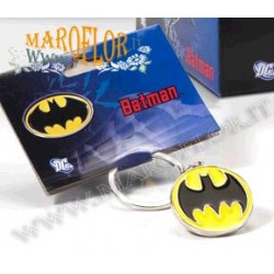 PortaChiavi BatMan in metallo 3,5cm tondo in offerta Outlet Stock fine serie