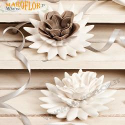 Bomboniere Claraluna 17161 Lotus Porcellana Fiore Sapone Essenziale