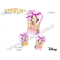 Astuccio Mongolfiera Walt Disney Minnie Topolina rosa Ballon