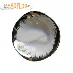 Bomboniere Claraluna 16005 Stock Ciotola in Porcellana bianca e argento 13cm