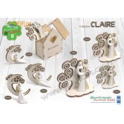 Bomboniere Quadrifoglio QFC343 Coppia albero Claire