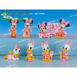 Bomboniere Walt Disney Baby Minnie Topolina 8cm 4 assortite per Battesimi Nascite Compleanni