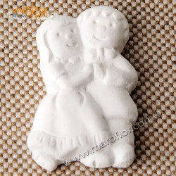 Gessetto Bomboniera Sposi in Gesso