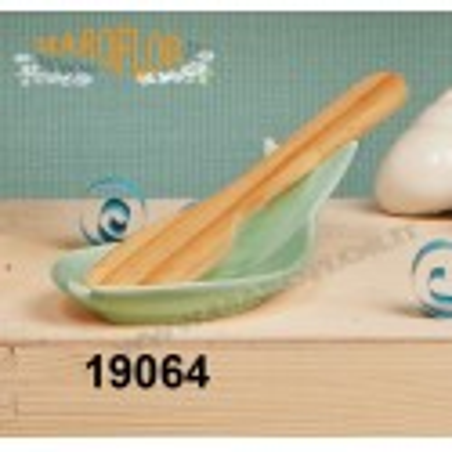 Outlet Bomboniera Claraluna 19064 PoggiaMestolo Stock Pesce con Mestolo 15cm con Astuccio