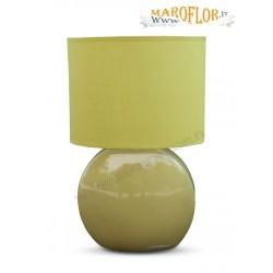Outlet Bomboniere Claraluna 14057 Lampada verde in Porcellana 24cm