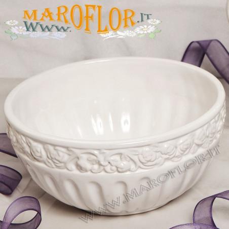 Outlet Bomboniera Claraluna 17183 Stock Ciotola in Ceramica 15cm
