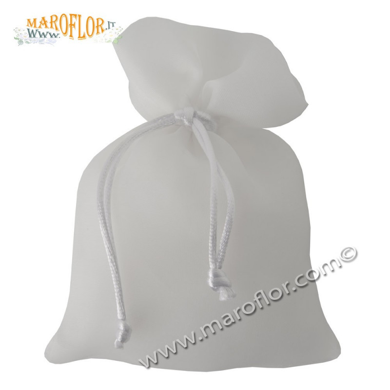 Outlet Sacchetto lucido Bianco 10x15cm