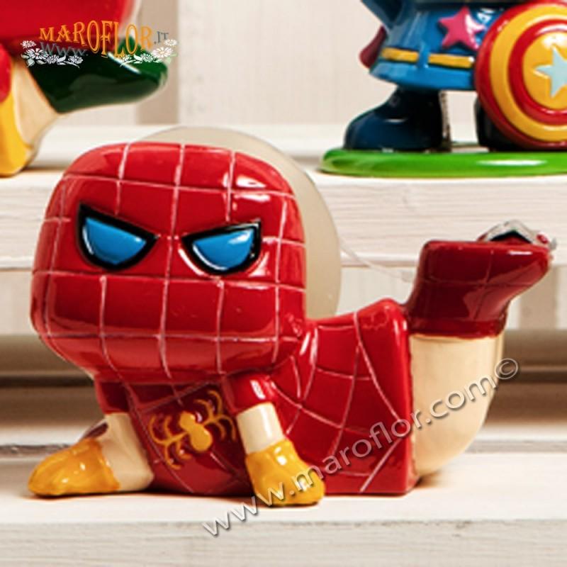 Outlet Bomboniera Claraluna Stock Supereroe Porta Scotch Spiderman 17725