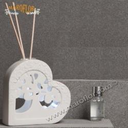 Bomboniera Claraluna 20092 Cuore Diffusore e Led 11cm con kit essenza