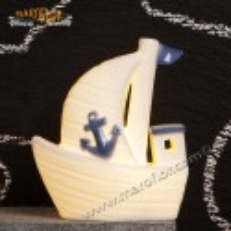 Bomboniera Claraluna CL20262 Barca con Led 12cm