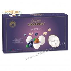 Confetti Maxtris con Mandorle ricoperta di Cioccolato Bianco al Mirtillo 1Kg