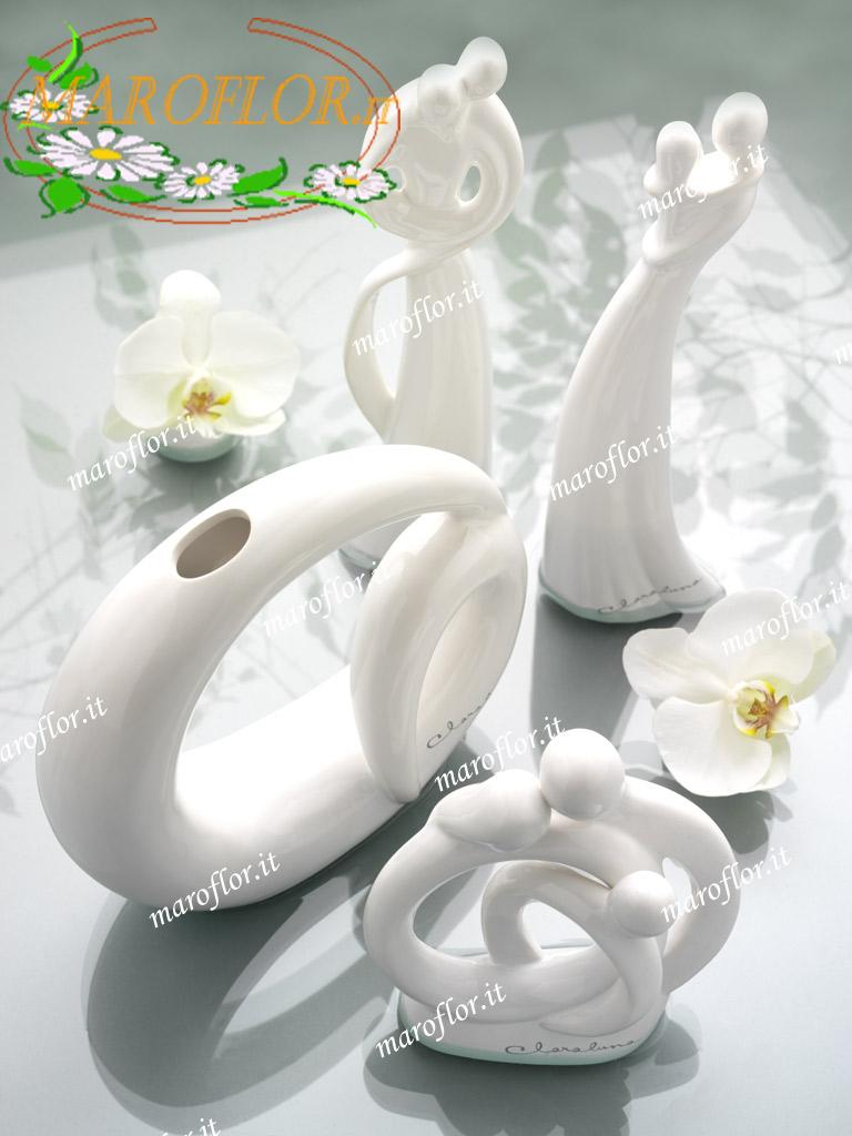 Bomboniere Moderne Per Matrimonio.Bomboniere Claraluna 8972 Sacra Famiglia In Porcellana Cla8972 Clar