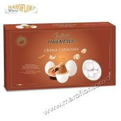 Confetti Maxtris Crema Catalana Cioccomandorla 1kg bianco