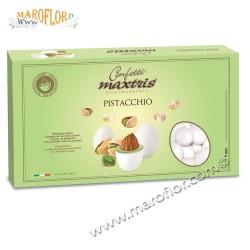 Confetti Maxtris Pistacchio Cioccomandorla 1kg bianco