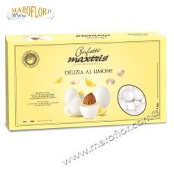 Confetti Maxtris Delizia al Limone Cioccomandorla 1kg bianco