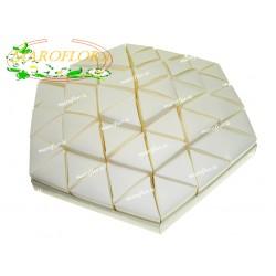 Torta Bomboniere Vuota Avorio 54 Triangolini