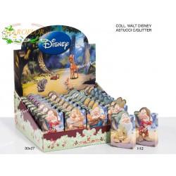 Bomboniere Astucci 7 Nani con Glitter Walt Disney h12cm