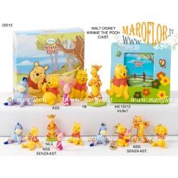 Bomboniere Portafoto Cornice Winnie the Pooh Walt Disney h12,5cm x Battesimo, Comunione, Nascita, Compleanno