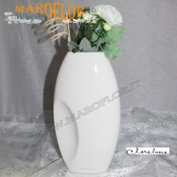 Bomboniere Claraluna 9023 Vaso Essenza Floreale grande in porcellana con Astuccio x matrimonio, sposi, anniversari