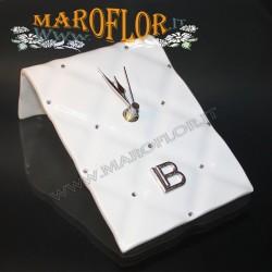 Bomboniere Matrimonio Laura Biagiotti Orologio da tavolo 11x14,5cm Galatea GE043 Bomboniera Prima Comunione Anniversari