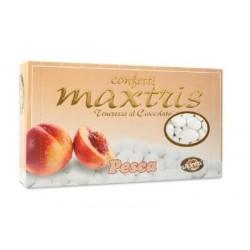 Confetti Maxtris con Mandorle ricoperta di Cioccolato Bianco alla Pesca