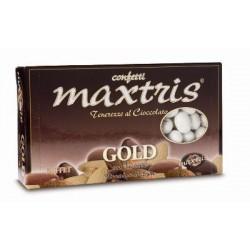 Confetti Maxtris Gold con Mandorle ricoperta di cioccolato Superiore al Latte 1Kg