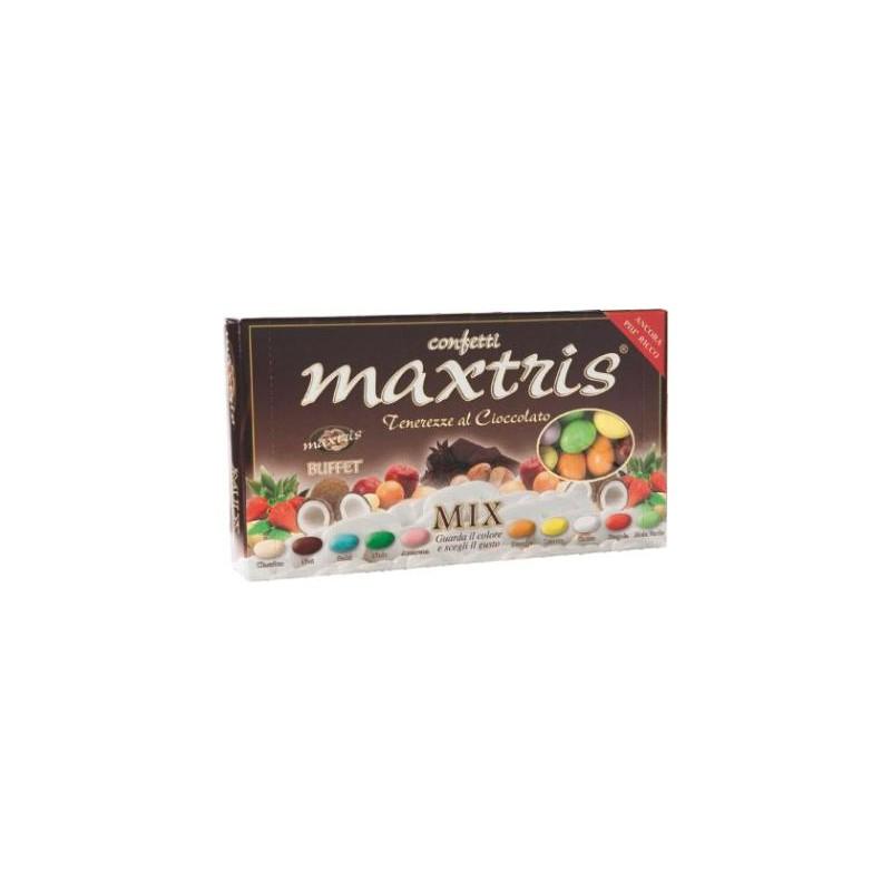 Confetti Maxtris con Mandorle ricoperta dai vari gusti Mix 1Kg