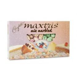 Confetti Maxtris Marbled con Mandorle ricoperta dai vari gusti Ricotta e Pera-Delizia al-Limone-Bab? con Panna-Cassata-Yogurt ai