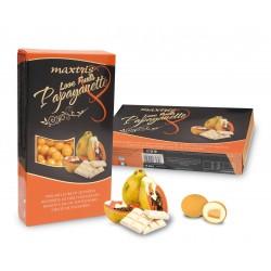 Confetti Maxtris Love Fruit Papayanette con Papaya ricoperto di Cioccolato Bianco