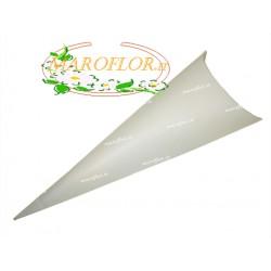 Astuccio Avorio Panna 19cm Bianco per Confetti Riso Petali in cartoncino