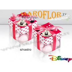 Bomboniere Astucci Minnie Topolina Walt Disney Cubo Rosso