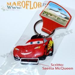 BOMBONIERE PORTACHIAVI Cars Saetta McQuenn in Gomma Caucci? Walt Disney